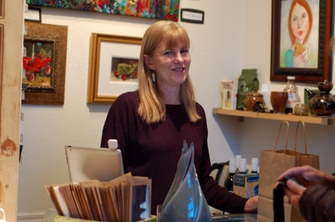 Jill Divine, owner of Gallery One13
